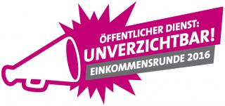 komba - Logo Einkommensrunde 2016