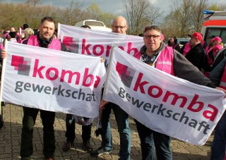 Warnstreik Salzgitter 07. April 2016