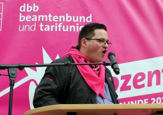 Warnstreik Salzgitter 07. April 2016 - Mario Römer